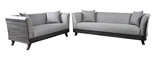 Inside + Out Berryhill Sofa Set, Grey - EK CHIC HOME
