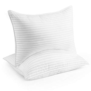Beckham Hotel Collection Gel Pillow (2-Pack) - Luxury Plush Gel Pillow - EK CHIC HOME