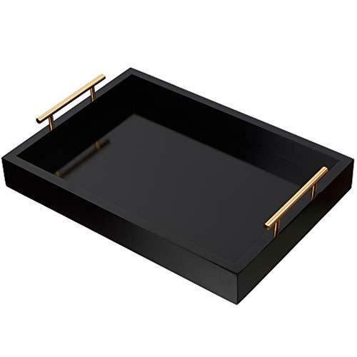 Elegant Scratch-Resistant Decorative Serving and Vanity Tray - EK CHIC HOME