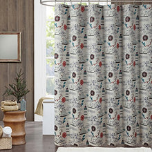 Load image into Gallery viewer, Madamoiselle Seashell Shower Curtain,Waterproof Polyester Fabric - EK CHIC HOME