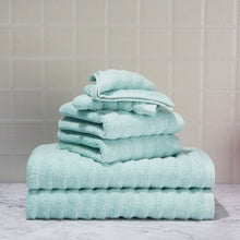 Load image into Gallery viewer, Texture 6-Piece Bath Towel Set - EK CHIC HOME