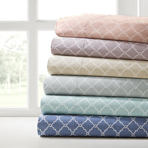 Comfort Classics 100 Percent Cotton Sheet Set - EK CHIC HOME