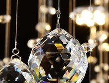 Load image into Gallery viewer, Crystal Raindrop Chandelier Lighting Flush Mount - EK CHIC HOME