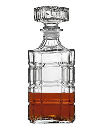 Whiskey Decanter And Glasses Bar Set, Includes Whisky Decanter And 6 Cocktail Glasses - 7 Piece Se - EK CHIC HOME