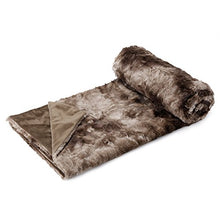 Load image into Gallery viewer, Luxury Super Soft Faux Fur Fleece Throw Blanket Cozy Warm Breathable Lightweight (60x80) - EK CHIC HOME