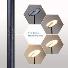Load image into Gallery viewer, Dimmable LED Torchiere Floor Lamp 3-Level Adjustable - EK CHIC HOME