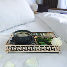 Load image into Gallery viewer, Glamor Gold Vanity Mirror Tray - EK CHIC HOME