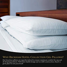 Load image into Gallery viewer, Beckham Hotel Collection Gel Pillow (2-Pack) - Luxury Plush Gel Pillow - EK CHIC HOME