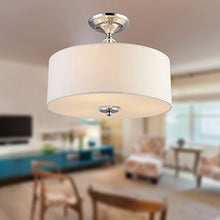 "Load image into Gallery viewer, Chandelier Modern Chandelier Lighting Flush mount LED Ceiling Light Fixture Pendant H11.8"" x W15.7"" - EK CHIC HOME"