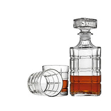 Load image into Gallery viewer, Whiskey Decanter And Glasses Bar Set, Includes Whisky Decanter And 6 Cocktail Glasses - 7 Piece Se - EK CHIC HOME