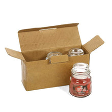 Load image into Gallery viewer, Set of 3 Apple Cinnamon Highly Scented, 2.65 Oz Wax, Jar Candle. - EK CHIC HOME
