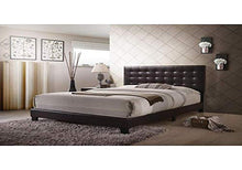 Load image into Gallery viewer, Masate Queen Bed in Espresso PU Queen Brown - EK CHIC HOME