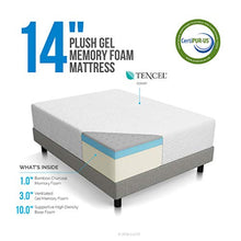 Load image into Gallery viewer, 14 Inch Plush Memory Foam Mattress - Ventilated CertiPUR-US Certified - EK CHIC HOME