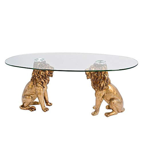 DOUBLE LION CONSIGLIERE Coffee Table - EK CHIC HOME