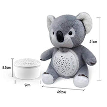 Load image into Gallery viewer, 12 Baby-Soothing Sounds and Sleep Aid Night Light | Portable Soother Stuffed Animals Koala Toy - EK CHIC HOME