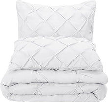 Load image into Gallery viewer, Pinch Pleat Comforter Set - Full/Queen - EK CHIC HOME