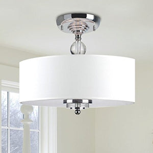 "Chandelier Modern Chandelier Lighting Flush mount LED Ceiling Light Fixture Pendant H11.8"" x W15.7"" - EK CHIC HOME"