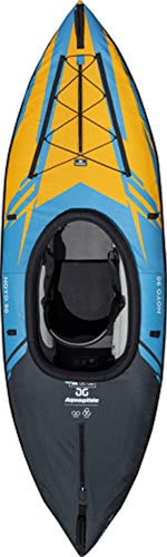 Noyo 90 Inflatable Kayak - 1 Person Touring Kayak with Cover
