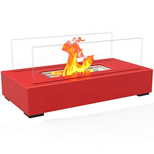Regal Flame Indoor Outdoor Utopia Ventless Tabletop Portable Bio Ethanol Fireplace - EK CHIC HOME