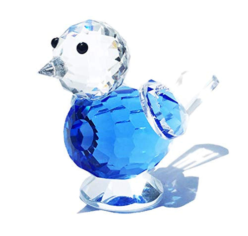 Crystal Bluebird of Happiness Collectible Figurines - EK CHIC HOME