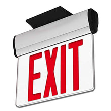 Load image into Gallery viewer, LFI Lights - UL Certified - Hardwired Edge Light Red LED Exit Sign - EK CHIC HOME