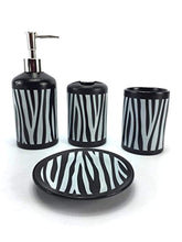 Load image into Gallery viewer, 4 Piece Ceramic Bath Accessory Set - EK CHIC HOME