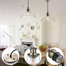 Load image into Gallery viewer, Industrial Hanging Lamp, Vintage Edison Glass Pendant Adjustable Hanging 3-PACK - EK CHIC HOME