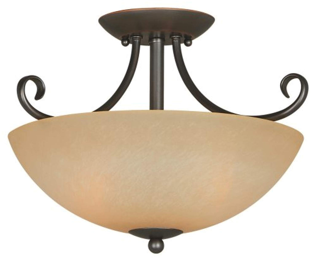 Ceiling Light Fixture, Classic Bronze - EK CHIC HOME
