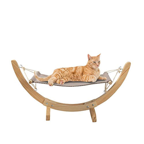 Cat Hammock Pet Soft Plush Hanging Bed for Cats - EK CHIC HOME