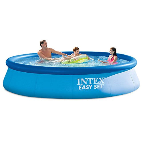 12ft X 30in Easy Set Pool Set with Filter Pump - EK CHIC HOME