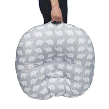 Load image into Gallery viewer, Boppy Newborn Lounger, Elephant Love Gray - EK CHIC HOME