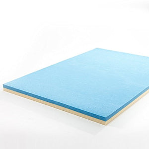 4 Inch Gel Memory Foam Mattress Topper - EK CHIC HOME