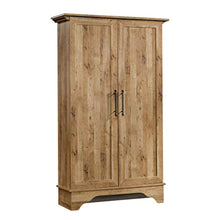 "Load image into Gallery viewer, Viabella Storage Cabinet, L: 40.32"" x W: 13.15"" x H: 65.83"", Antigua Chestnut finish - EK CHIC HOME"