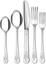 Load image into Gallery viewer, Sterling Quality, Royal Cutlery, Kitchen 20 Piece Stainless Steel Flatware Set - EK CHIC HOME