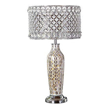 "Load image into Gallery viewer, Single Light 25"" Tall Accent and Vase Table Lamp - EK CHIC HOME"