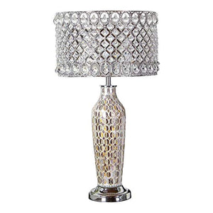 "Single Light 25"" Tall Accent and Vase Table Lamp - EK CHIC HOME"