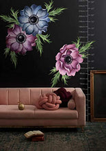Load image into Gallery viewer, Anemone Floral Wall Decal Watercolor Wall Stickers Flowers Peel n Stick - EK CHIC HOME