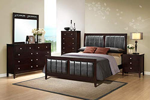 5 Piece Wood Bedroom Sets (King Size 5 Piece Set) - EK CHIC HOME