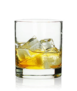 Rock Style Old Fashioned Whiskey Glasses Set Of 6 - EK CHIC HOME