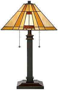 Tiffany Giselle Mission Table Lamp - EK CHIC HOME