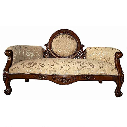 Victorian Cameo-Backed Settee - EK CHIC HOME