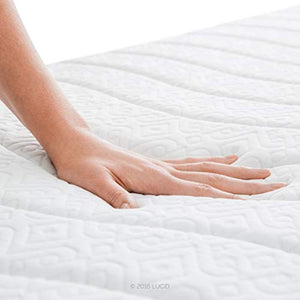 14 Inch Plush Memory Foam Mattress - Ventilated CertiPUR-US Certified - EK CHIC HOME