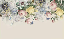 Load image into Gallery viewer, Floral Wallpaper Colorful Floral Wall Mural Peony Flower Watercolor Paint Art Classic - EK CHIC HOME