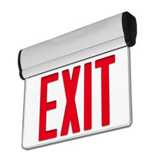 Load image into Gallery viewer, 2 Pack - UL Certified - Hardwired Red LED Edge Light Exit Sign - EK CHIC HOME