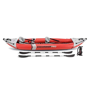 Excursion Pro Kayak, Professional Series Inflatable Fishing Kayak - EK CHIC HOME