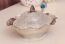 Load image into Gallery viewer, Swarovski Crystal Coated Handmade Brass Sugar Chocolate Candy Bowl - EK CHIC HOME