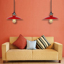 Load image into Gallery viewer, UFO Pendant Lights Edison Industrial Vintage 3-Light Pendant Lighting - EK CHIC HOME