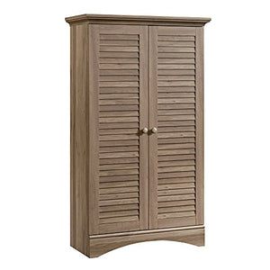 "Harbor View Storage Cabinet, L: 35.43"" x W: 16.73"" x H: 61.02"", Antiqued Paint finish - EK CHIC HOME"