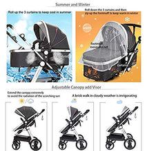 Load image into Gallery viewer, Convertible Bassinet Stroller Compact Single Baby Carriage - EK CHIC HOME