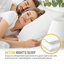 Load image into Gallery viewer, Gel Pillow Loft (Pack of 2) Luxury Plush Gel Bed Pillow For Home + Hotel Collection - EK CHIC HOME